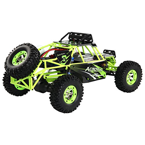 Costzon 1:12 2.4G 4WD RC Off-Road Racing Car Radio Remote Control Rock Crawler Truck RTR