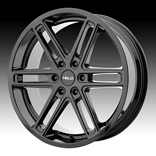 HELO HE908 Gloss Black Wheel Chromium (hexavalent compounds) (20 x 9. inches /6 x 66 mm, 30 mm Offset)
