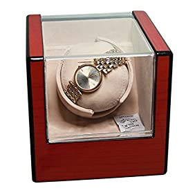 Kendal Top Quality Single Automatic Wooden Watch Winder with Advanced Control