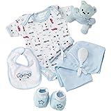Big Oshi Baby Essentials Gift Basket 9-Piece Layette...
