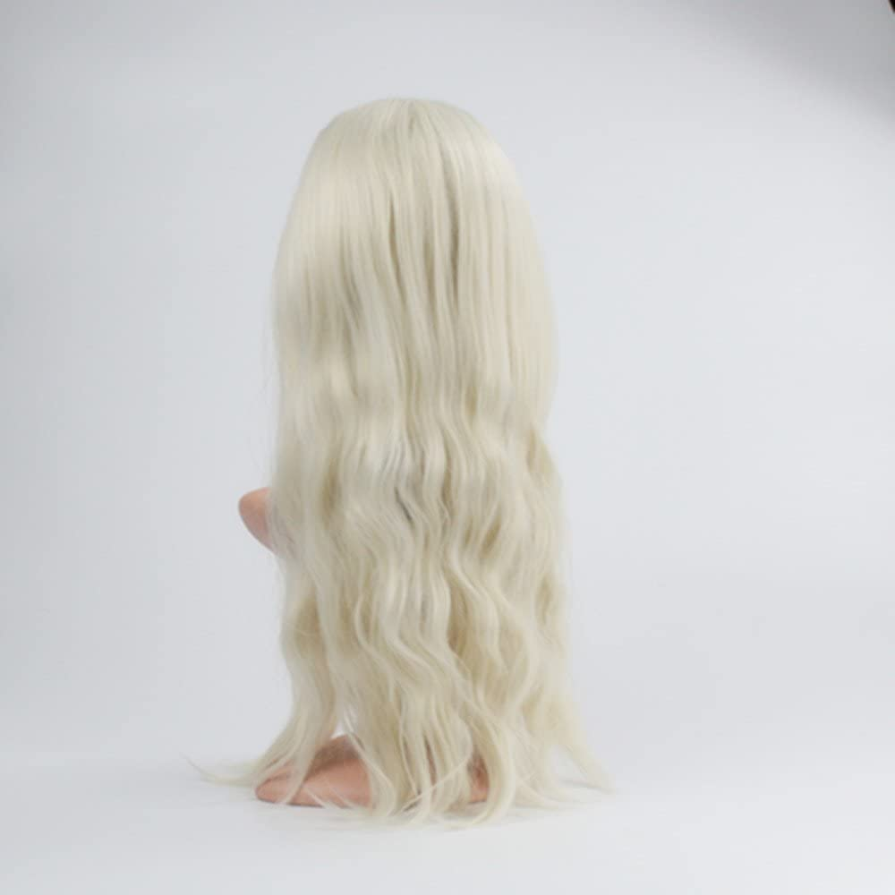 WENDY HAIR - Peluca larga trenzada para disfraz de cola de caballo, disfraz de fiesta de Frozen Snow Queen Elsa, disfraz de fiesta de disfraces: Amazon.es: Belleza