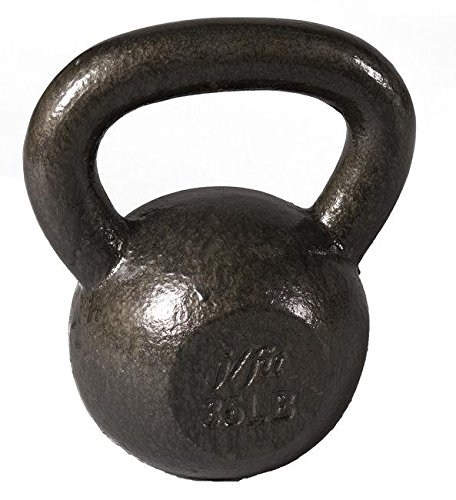 J/fit 40lb Cast Iron Kettlebell
