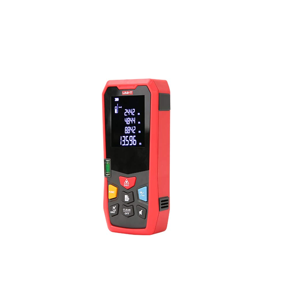 DJG Precision Pro Golf, 40/50/60/80/100/120/150M High-Precision Handheld Range Finder Can Decorate The Measuring Room Electronic Ruler,50m