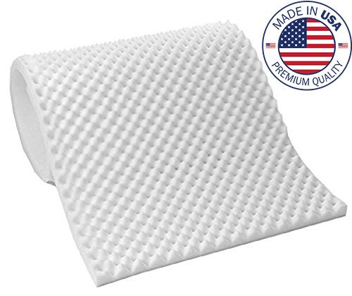 - Vaunn Medical Egg Crate Convoluted Foam Mattress Pad - 3