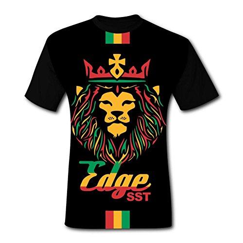 Lions King 3D Tees Shirt Adult T-Shirt 3D Print Neck Cotta L ()