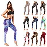 ZOOSIXX High Waisted Leggings for Women – Extra Soft Yoga Pants for...