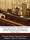 International Finance Discussion Papers, Allan D. Brunner, 1288734581