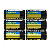 Panasonic CR123 CR123A 3V Lithium Battery