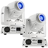 Chauvet DJ Intimidator Spot 255 IRC 60 W LED Moving Yoke Head DMX Light (2 Pack)