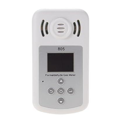 formaldehyde Detector de monitor Comprobador, VivReal formaldehyde portátil con pantalla LCD y alarma de sound