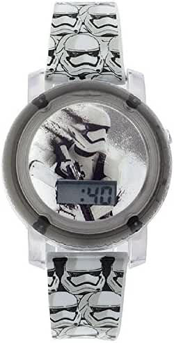 Star Wars Episode VII - Trooper Flashing Lights and Sounds LCD Watch