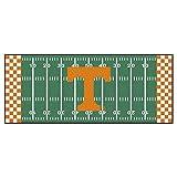NCAA University of Tennessee Volunteers Football Field Runner Mat Area Rug