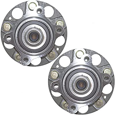 Pair Set Rear Wheel Hub Bearings Replacement for Acura Honda 42200-SEA-951 HA590019 512327 AutoAndArt: Automotive
