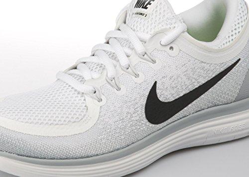 Uomo Nike white Corsa Distance Multicolore 2 Free pure black Platinum Da Grey wolf Scarpe Rn xrzrw0Cqg