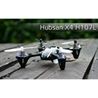 Hubsan X4 Quadcopter Mini UFO H107L with LED RTF (2 Batteries)