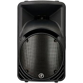 mackie c200 10 inch 2 way compact sr monitor black single speaker musical instruments. Black Bedroom Furniture Sets. Home Design Ideas