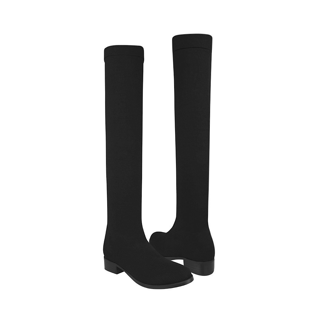 945a3ff83ffce Botas casuales Stylo para mujer textil negro 759-1-103 C183105-2