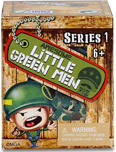 LOT OF 3 Awesome Little Green Men Blind Box New Series 1
