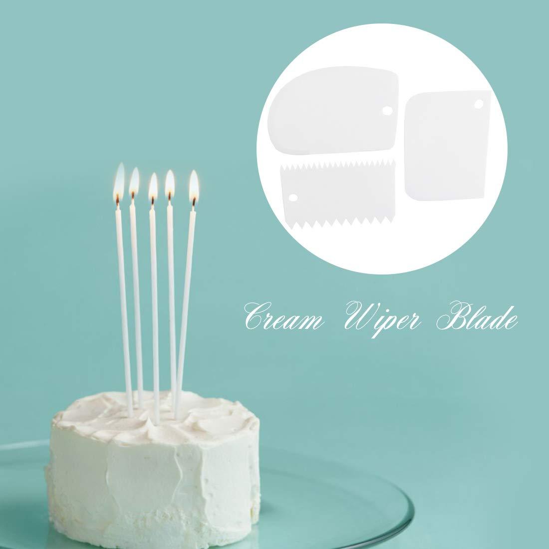 NUOSEM Tappetino da forno in silicone pane e biscotti set da 2 pennarelli antiaderenti con cake scrappers /& 5 cucchiai dosatori /& sac /à poche in silicone per macaron