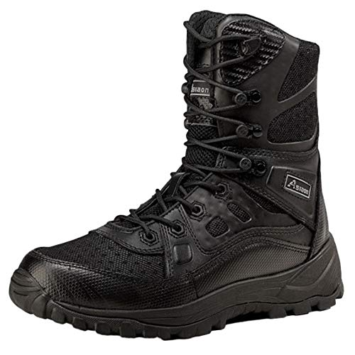 the latest 09b8a a5464 Boots Boots Boots Tactical Boots Under Armour Men Black Desert Breathable  Lightweight Summer High Help Outdoor Desert Boots B07HHT9JDM Shoes 716c8d