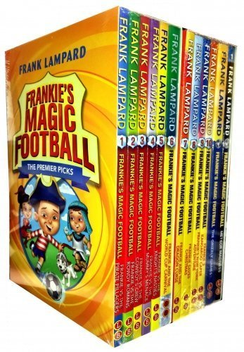 Frank Lampard Frankies Magic Football Collection 12 Books Set
