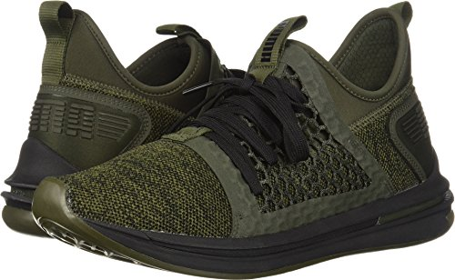 PUMA Men's Ignite Limitless SR Netfit Sneaker, Forest Night,