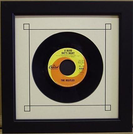 amazon com 45 single 6 7 8 inch vinyl record frame featuring