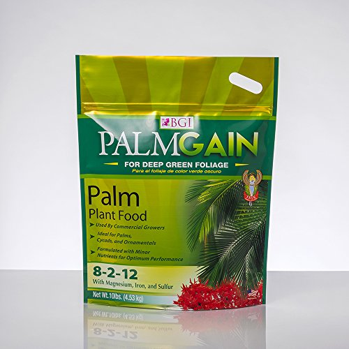 PALMGAIN 10lb Bag Palm Tree Fertilizer, Ferns, Cycads, Ixora