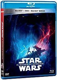 Star Wars El Ascenso de Skywalker - Blu Ray + DVD [Blu-ray]