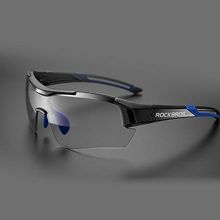 Amazon.com: RockBros - Gafas de sol fotocromáticas para ...