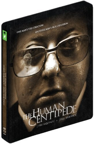 The Human Centipede 4-Disc First Sequence + Full Sequence Blu-Ray + DVD Steelbook Edition Region B