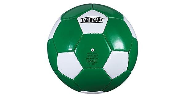 Tachikara SM4SC dual colored soft PU soccer ball, size 4 (kelly ...