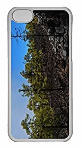 iPhone 5C Case, Personalized Custom Tenerife Forest for iPhone 5C PC Clear Case