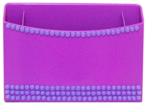 Inkology Color Rush Rhinestone Magnetic Locker Bin, Color May Vary (359-5)