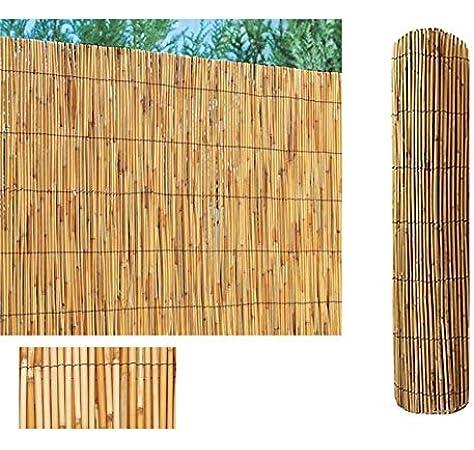 Comercial Candela Cañizo de Bambu Pelado (Bambú, 2x5 Metros): Amazon.es: Jardín