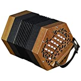 Trinity College AP-1230 Anglo-Style Concertina - 30 Button - Walnut