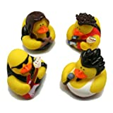 : Fun Express Rock Star Rubber Duckies Toy (12 Piece)