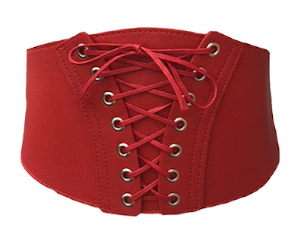 Ladies Waist Corset Cinched Belt