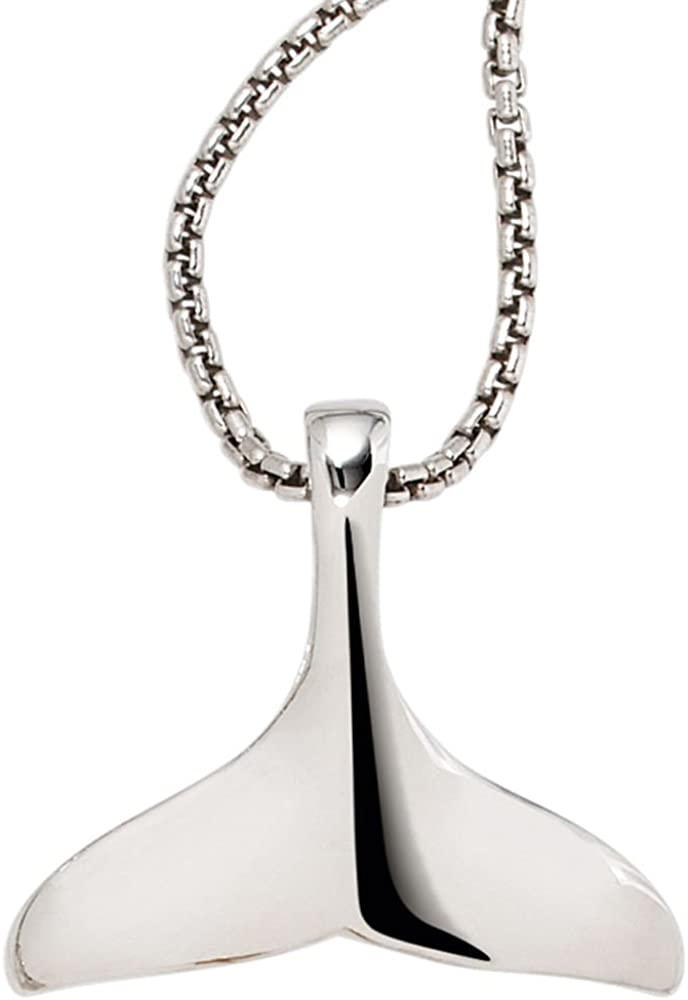 Walefin // Anhänger Walflosse 925 Sterling Silber Pendant Silberschmuck Ps