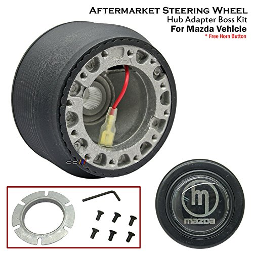 (1 x Steering Wheel Hub Adapter Boss Kit For Mazda RX-7 SA22C FB33 FC3S FD3S MX-5 )