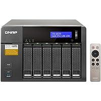 Qnap 6-Bay, 24TB(6x 4TB NAS Drive) Intel Braswell Quad-Core 1.6GHz CPU(TS-653A-8G-64R-US)
