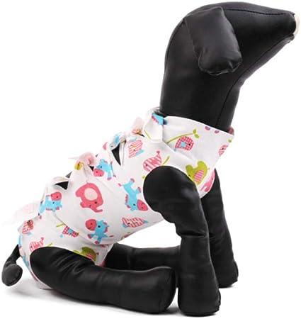 Vxhohdoxs - Ropa para gatos esterilizada, antiácaros, con sección fina, transpirable, disfraz para mascotas de cuatro patas Small Multi-color: Amazon.es: Hogar