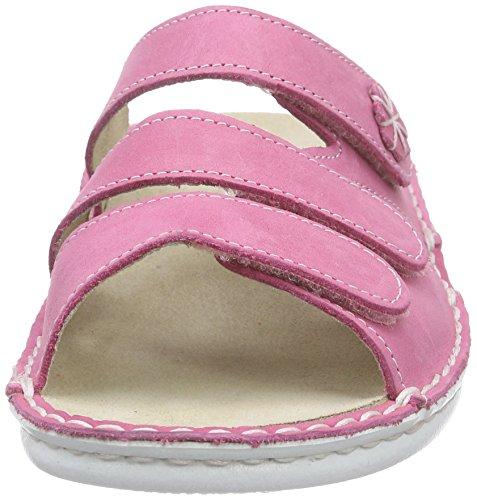 Hans Herrmann Collection Damen HHC Clogs Pink (fuxia - weiße S 75)