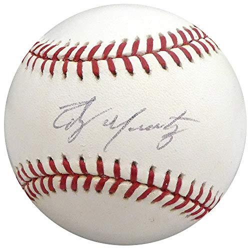 Edgar Martinez Autographed Official MLB Baseball Seattle Mariners Beckett BAS - Baseball Mlb Martinez Autographed