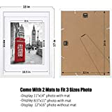 12x16 White Picture Frames Wood Display Pictures