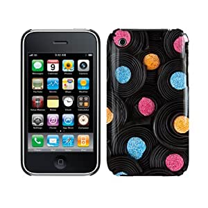 Apple iPhone 3GS / 3G / Pick 'n' Mix Collection / Liquorice Whirls / Glossy Image Hard Back 3D printed Case by Call Candy (122-034-211)