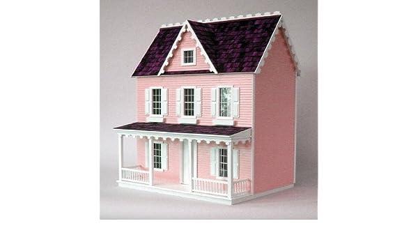 Dollhouse Miniature Vermont Farmhouse Jr Dollhouse by RGT by Real Good Toys