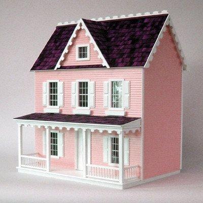 Dollhouse Miniature Vermont Farmhouse Jr. Dollhouse by RGT by Real Good Toys by Real Good Toys