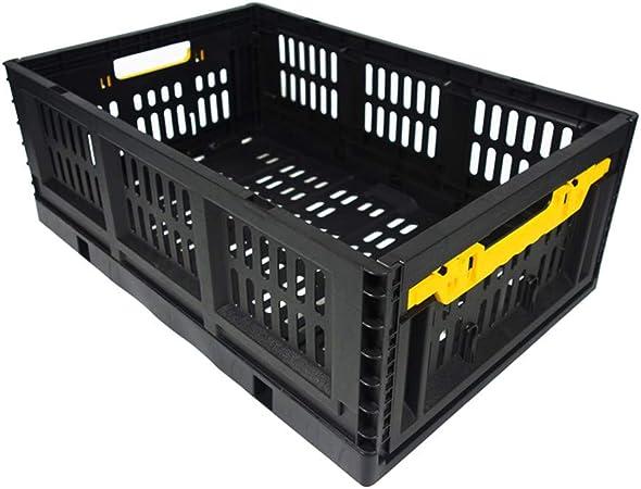 2 Piezas Organizador Del Coche Cajas Almacenaje Envase Plegable Multifuncional Caja Plegable Muebles Organizadores Para Almacenamiento Plástico Cesto,L: Amazon.es: Hogar