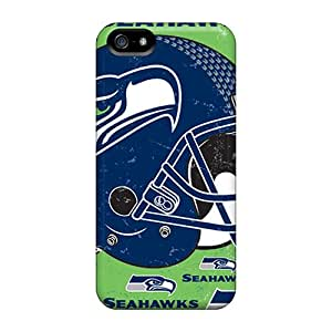 Seattle Seahawks Shock Absorbent Bumper Cases For Iphone 5/5s